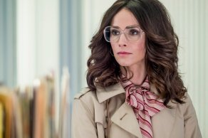 """TIMELESS -- """"The Day Reagan Was Shot"""" Episode 208 -- Pictured: Abigail Spencer as Lucy Preston -- (Photo by: Ron Batzdorff/NBC)"""