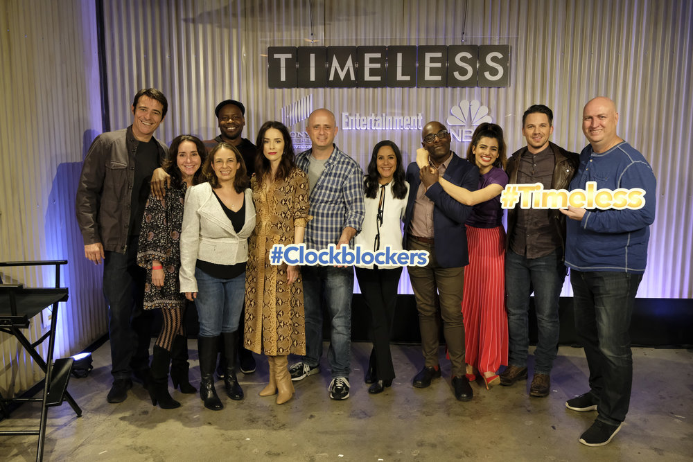 "'Timeless' Exclusive: Showrunner Shawn Ryan remains optimistic about renewal and is grateful for fans' ""roar"""