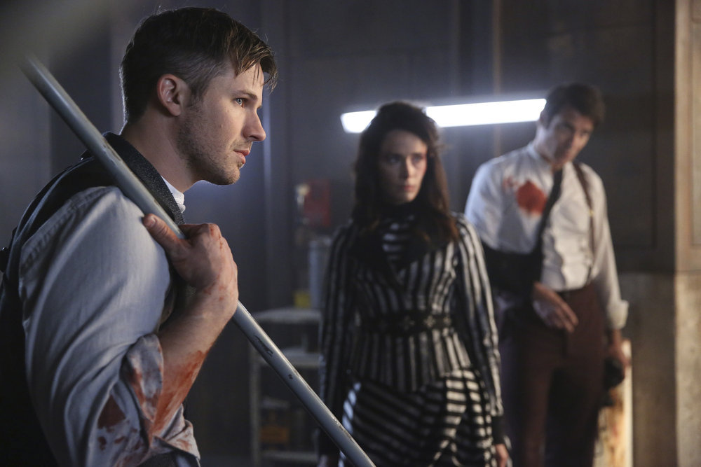 'Timeless' Exclusive: What's next for Lucy, Wyatt and Flynn in Season 3?